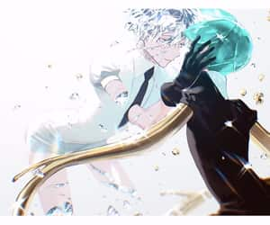 phosphophyllite, antarcticite, and land of the lustrous image