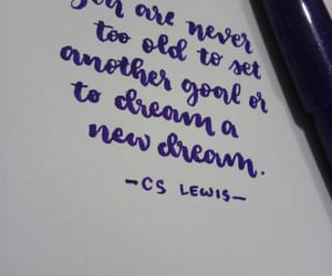 calligraphy, handlettering, and Dream image