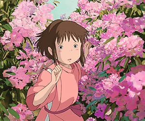 aesthetic, anime, and chihiro image