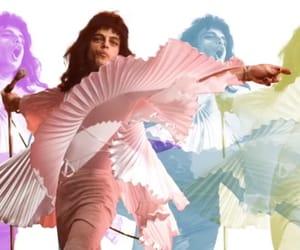 band, bohemian, and Freddie Mercury image