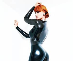 catsuit, jumpsuit, and latex image