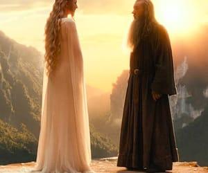 cate blanchett, ian mckellen, and the hobbit image