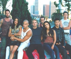 paul walker, fast and furious, and Vin Diesel image