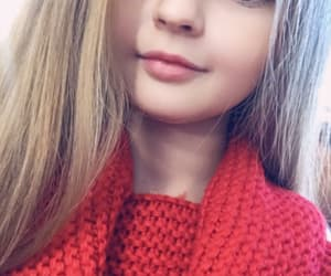 autumn, blond girl, and blond hair image