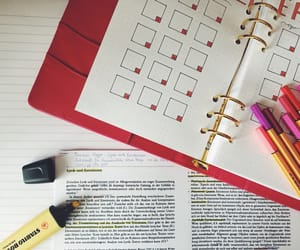 inspiration, notes, and red image