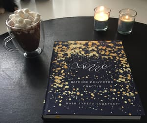 books, cacao, and hygge image