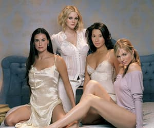 drew barrymore, lucy liu, and cameron diaz image