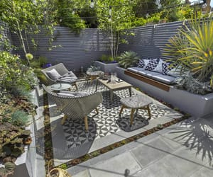 small garden design and small garden ideas image