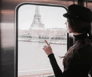 paris, travel, and girl image