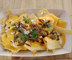 food, nachos, and cheeze image