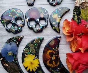 handmade, painted, and jewelry image