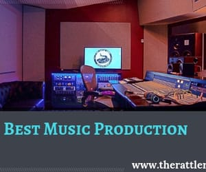 recording studio, audio production, and music producer image