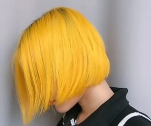 dyed hair, fashion, and girl image