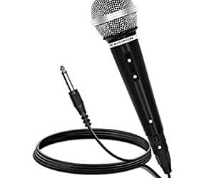 vocal dynamic microphone, wired microphone, and handheld microphone image