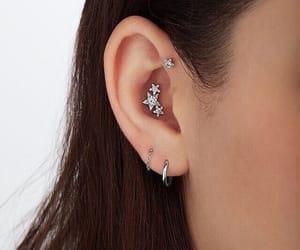 diamond, earrings, and girl image