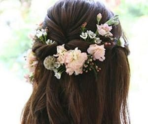 beauty, hairstyle, and dream wedding image
