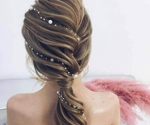 beauty, braids, and classy image