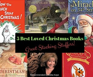 books, christmas, and edita kaye image