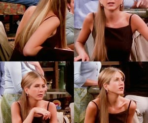 hairstyle, Jennifer Aniston, and rachel green image