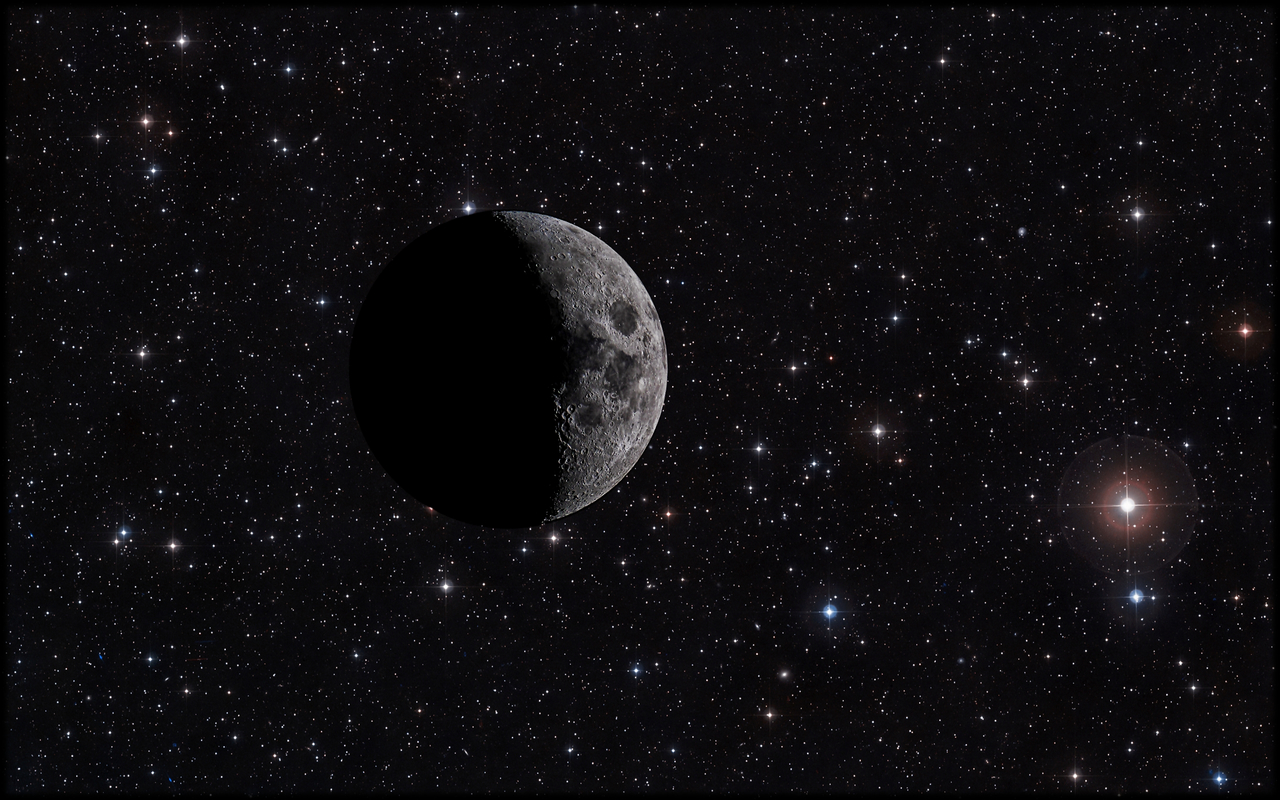 Moon And Beyond 4k Wallpaper 3840x2400 On We Heart It