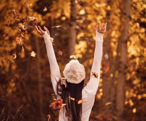 autumn, autumn colors, and beanie image