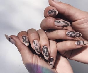 glam, luxury, and manicure image
