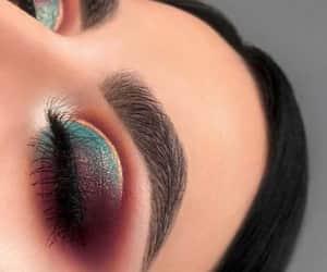 eyeshadow, maquillaje, and make up image
