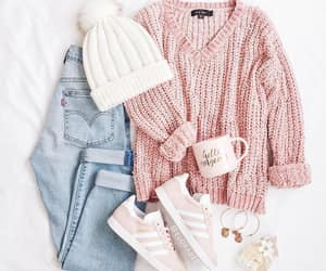 clothes, cozy, and jeans image