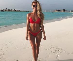 beach, body, and fashion image