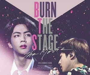 jin, bts, and burn the stage image