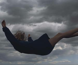 falling and sky image