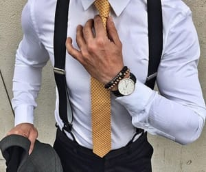 man, suit, and style image