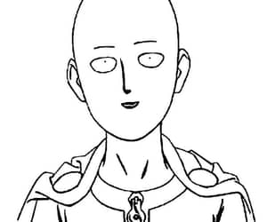 opm, saitama, and one punch man image
