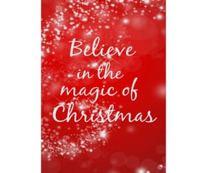 believe, holidays, and christmas image