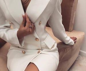 blazer, dress, and dre image