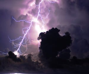 clouds, nature, and storm image