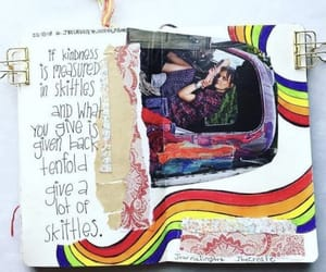 art journal, colors, and indie image