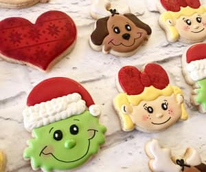 chirstmas, Cookies, and delicious image