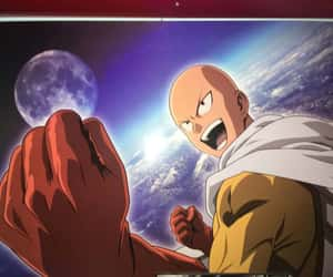 article, one punch man, and gif image