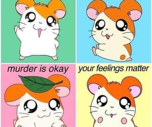 funny, hamtaro, and lol image