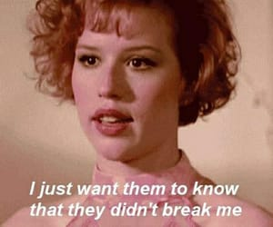 pretty in pink, 80s, and quotes image