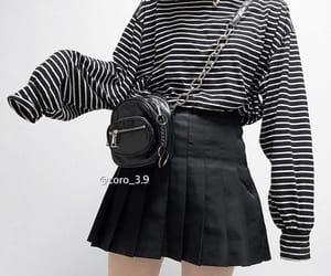 asia, fashion, and black image