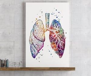 etsy, nurse, and watercolor print image