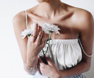 accessories, collarbones, and minimalism image