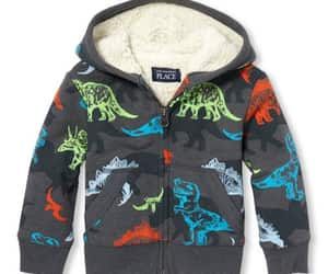 dinosaurs, hoodies, and baby image