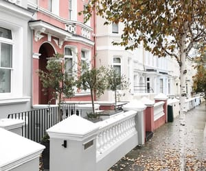 architecture, london, and Notting Hill image