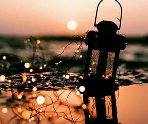 dreamy, lantern, and lights image