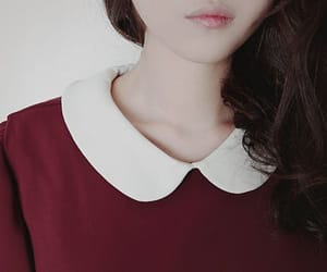 collar, fashion, and beauty image