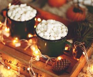 animated, autumn, and marshmallows image