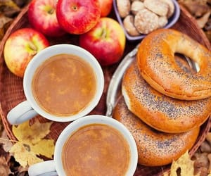 apples, food, and autumn image